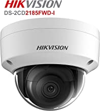 Hikvision 8MP Dome IP Camera, DS-2CD2185FWD-I High Resolution Security Camera Outdoor H.265+ IP67 Firmware Upgradeable International Version (2.8mm Lens)