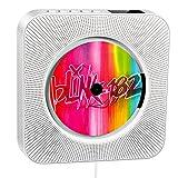 Reproductor de CD portátil, Altavoz HiFi Incorporado, Reproductor de CD de música MP3 US...