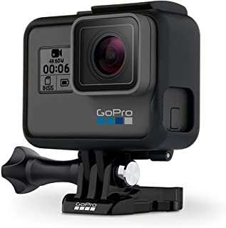 GoPro HERO6 Black 4K Cámara de Acción (Renewed)
