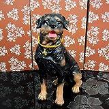 KKUUNXU Modello di Cucciolo Decorazione Domestica Artigianato Soggiorno Finestra Decorazione in Resina Animale Regalo di Apertura
