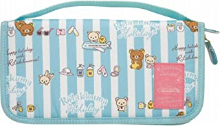 San-X Rilakkuma Passport Case / Travel Case CT83901 (Blue)