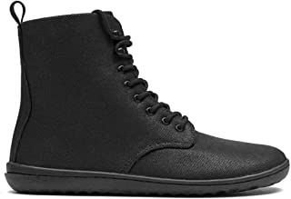 vivobarefoot Gobi Hi 2.0, Womens Leather Lace Up Winter Boot with Barefoot Sole & Warm Lining