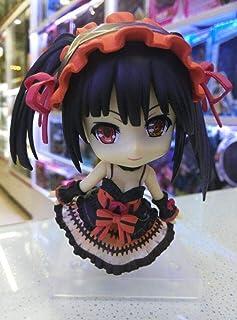 LF-YGJ Estatua de Anime Anime Date A Live Nightmare Nendroid Tokisaki Kurumi Q sion PVC Figura de acción Juguetes de Model...