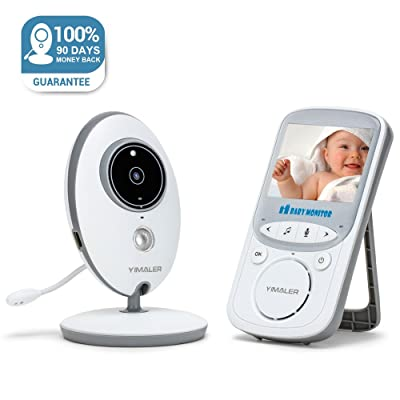 Yimaler Baby Monitor with Video Wireless with D...