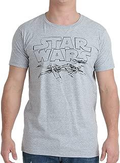 Star Wars Adult Heather Gray T-Shirt