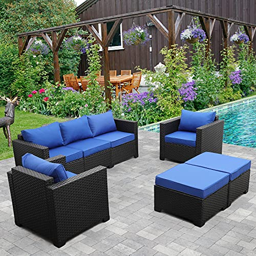 Outdoor Wicker Furniture Couch S...