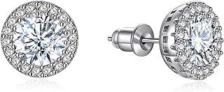 گوشواره گوشواره گوشواره برای دختران مد جواهرات زیرکونیا گوشواره Halo برای زنان مردان