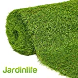 JARDINLIFE Césped Artificial Premium Rollo de 1X2m altura 30 mm...