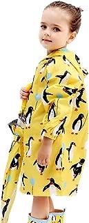 LHY- Raincoat S/M/L/XL/2XL Children's raincoat Poncho Breathable Pupil with Zipper Boy and Girl raincoat Convenient (Color : C, Size : M)