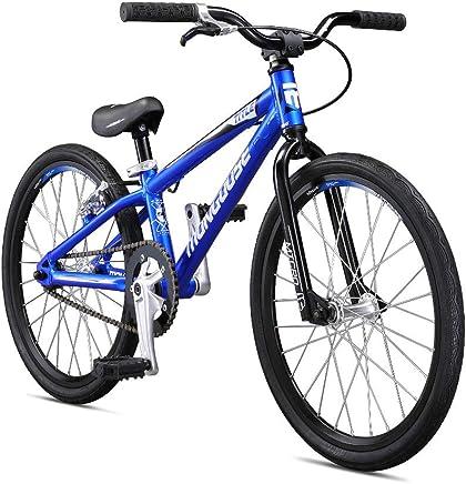 Mongoose Title Micro BMX Race Bike for Beginner Riders, Featuring Lightweight Tectonic T1 Aluminum Frame