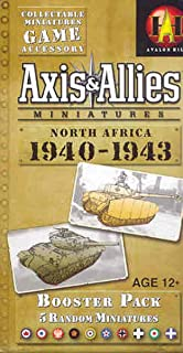 Wizards of the Coast Axis and Allies Miniatures North Africa 1940-1943 an Axis and Allies Miniatures Board Game Expansion
