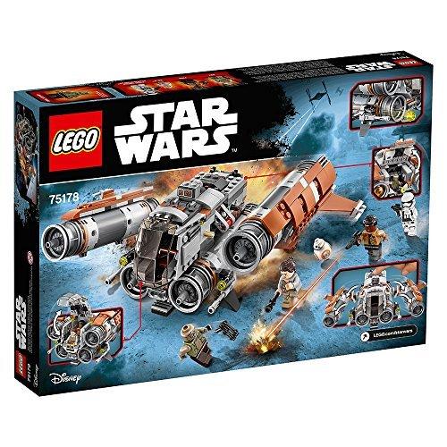 Vaisseau Quadjumper de Jakku LEGO Star Wars 75178 - 457 Pièces - 4