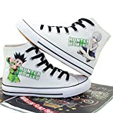 Hunter X Hunter GON Freecss Cosplay Costume Shoes Canvas Shoes Sneakers White/Black