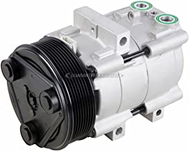 AC Compressor & A/C Clutch For Ford F-150 F-250 F-350 F150 F250 F350 & Super Duty w/ 8-Groove Pulley - BuyAutoParts 60-01392NA NEW