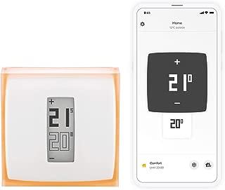Netatmo NTH01-ES-EC - Termostato Wifi Inteligente para caldera individual