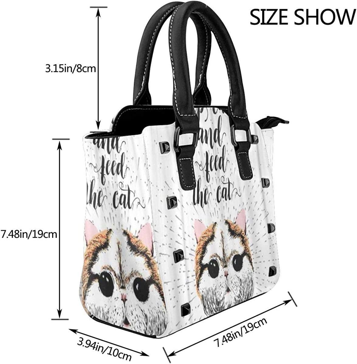 BROWCIN Golden Retriever Puppy Dog Pet Pet Tongue s'étendant Détachable La mode Tendance Madame Sac à main Sac à bandoulière Cor20