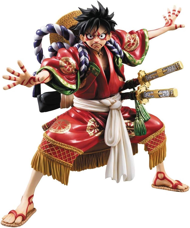 Siyushop Einteilige Portrait Monkey D Ruffy Kabuki Version EX Modell PVC Figur (1 Stück) - Hoch 7,2 Zoll