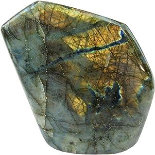 JIC Gem Labradorite Upright Stone by Joyoung Int. (12-16 oz.)