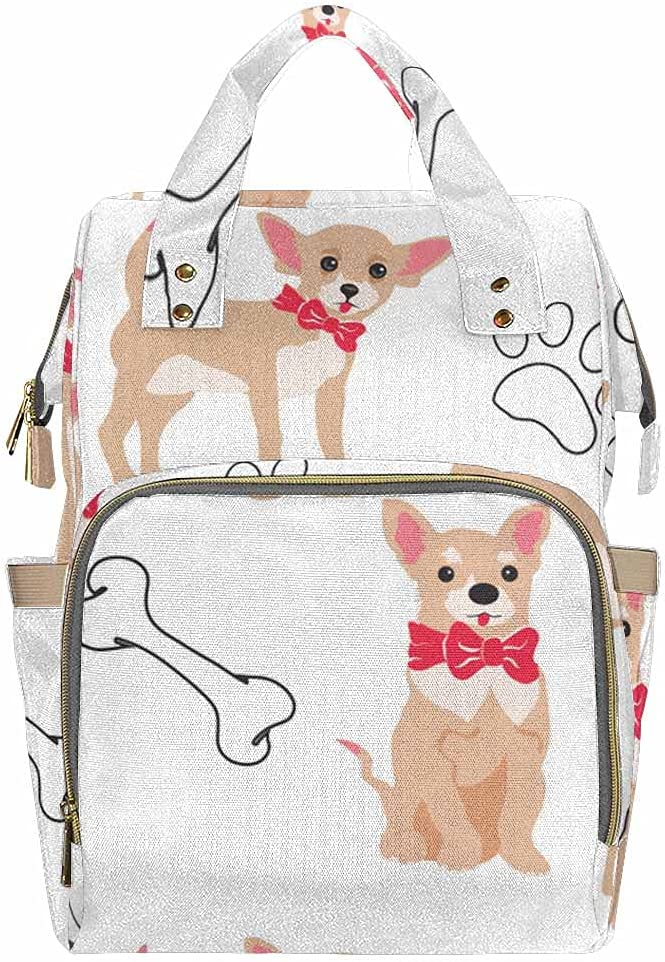 InterestPrint Durable Stylish Sacramento Baltimore Mall Mall Maternity Nappy for Bag Boys Gir