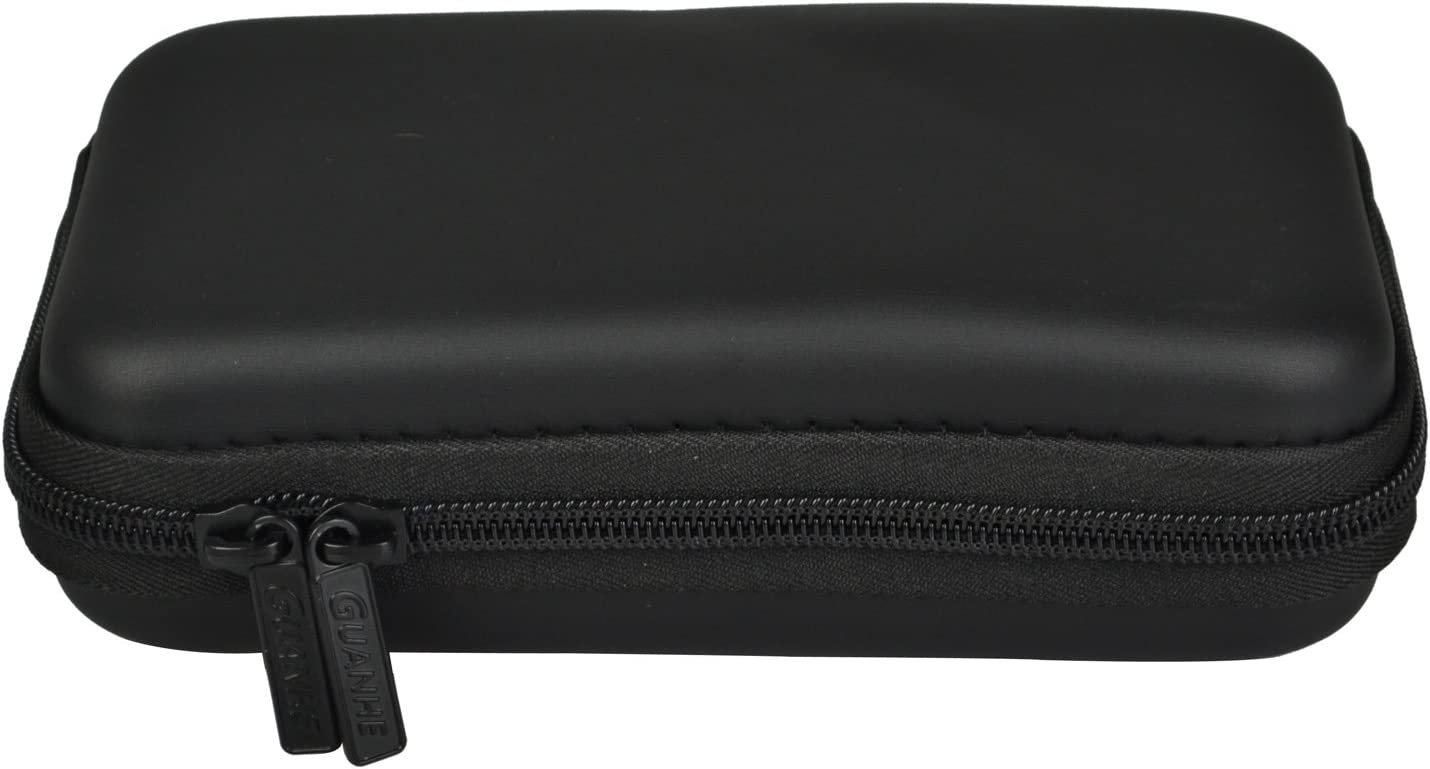 Estarer Compact Flash Memory Cards Case 12-Capacity,Black,5 Layers Digital Gadget Case,Designed for External Hard Drive and USB Flash Drives,Travelbag