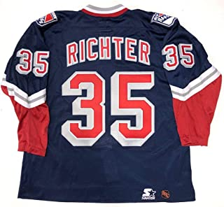 aef9fcd4c9d Mike Richter 1996 New York Rangers Liberty Authentic Starter Jersey 54