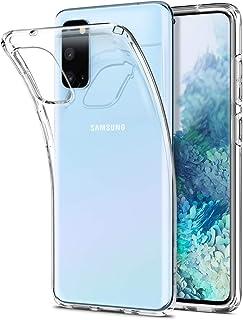 جراب خلفي لموبايل سامسونج جالاكسي S20 Liquid Crystal من سبايجن ACS00789 - شفاف
