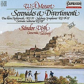 Mozart: Serenades & Divertimenti, Vol. 2