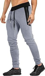 EKLENTSON Mens Jogger Sweatpants Cotton Casual Pants for Jogging,Running,Training
