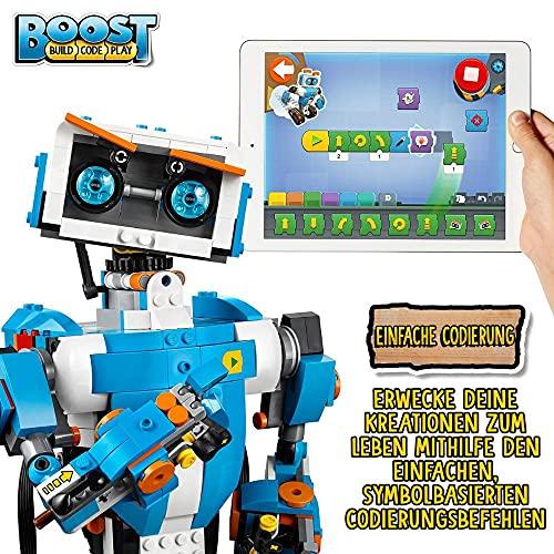 LEGO 17101 Boost Programmierbares Roboticset, 5-in-1 App-gesteuertes Baumodell mit einem programmierbaren, interkativen Roboter-Spielzeug und Bluetooth Hub, Programmierset für Kinder - 3