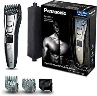 Panasonic 松下电动剃须刀刮胡刀毛发修剪器干湿两用,全身水洗有线 充电/ 无线操作