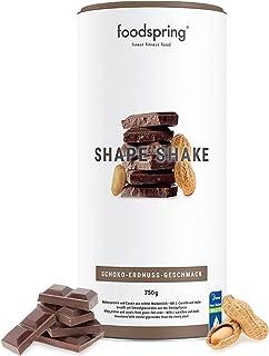 foodspring Shape Shake, Sabor Chocolate y Crema de Cacahuete, 750g, Batido saciante, 100% proteína de suero de leche en polvo, Enriquecido con L-carnitina (quema grasas)