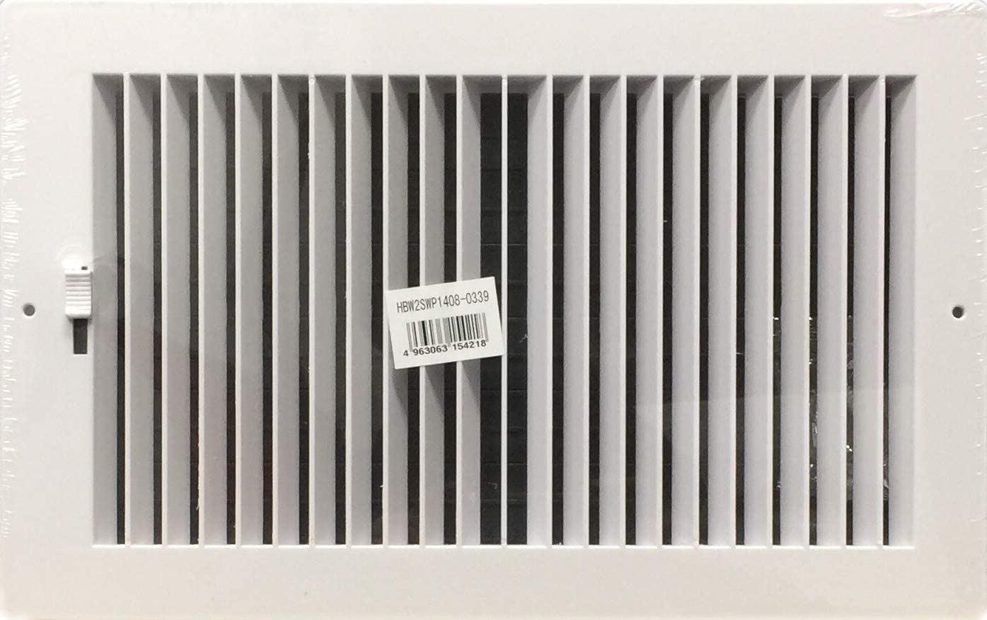 HBW Two-Way Plastic Side Wall Ceiling Ranking TOP15 w X White Register in trend rank 14