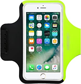 Running Sports Phone Case On Hand Phone Holder Brassard Case for iPhone X XR XS Max 8 7 Plus,Black Green