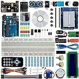 Bruphny - Kit de iniciación para Arduino con Tutorial, microcontrolador R3 y Muchos Accesorios electrónicos compatibles con Arduino