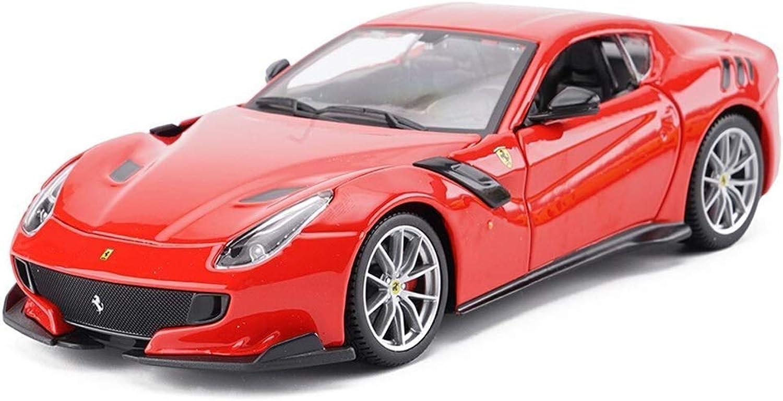 precio al por mayor YaPin Model Coche 1 24 Ferrari-F12-TDF Ferrari-F12-TDF Ferrari-F12-TDF Modelo de Coche Aleación de Simulación Original Modelo de Coche de Juguete Adulto Colección Regalo 19x8x5CM Modelo de Coche ( Color   rojo )  últimos estilos