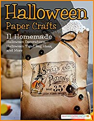 Image: Halloween Paper Crafts: 11 Homemade Halloween Decorations, Halloween Treat Bag Ideas, and More | Kindle Edition | by Prime Publishing (Author). Publisher: Prime Publishing LLC (August 25, 2014)