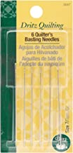 Dritz 3047 Quilter's Basting Hand Needles, Size 7 (6-Count)