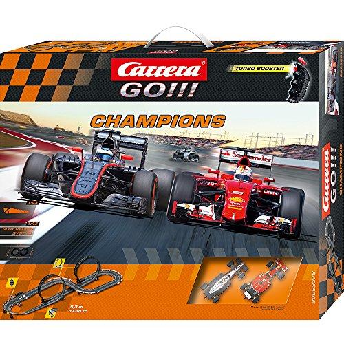 Carrera GO!!! - Champions (McLaren Alonso + Ferrari Vettel) 5.3 m, Escala...