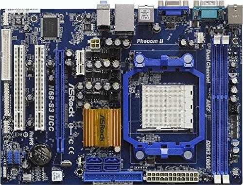 MB ASROCK AM3 N68-S3 UCC (µ/R/V/DDRIII) Kat:Mainboards AMD Sockel AM3 NVIDIA