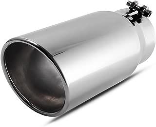 4 Inch Inlet Chrome Exhaust Tip, AUTOSAVER88 4