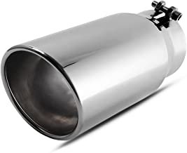 4 to 5 black exhaust tip