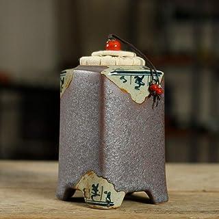 AFDK Urnas, adulto Cenizas niños Pet urnas funerarias en casa, conmemorativa Sello de cerámica fuerte, Jardín urnas para cenizas, A,A