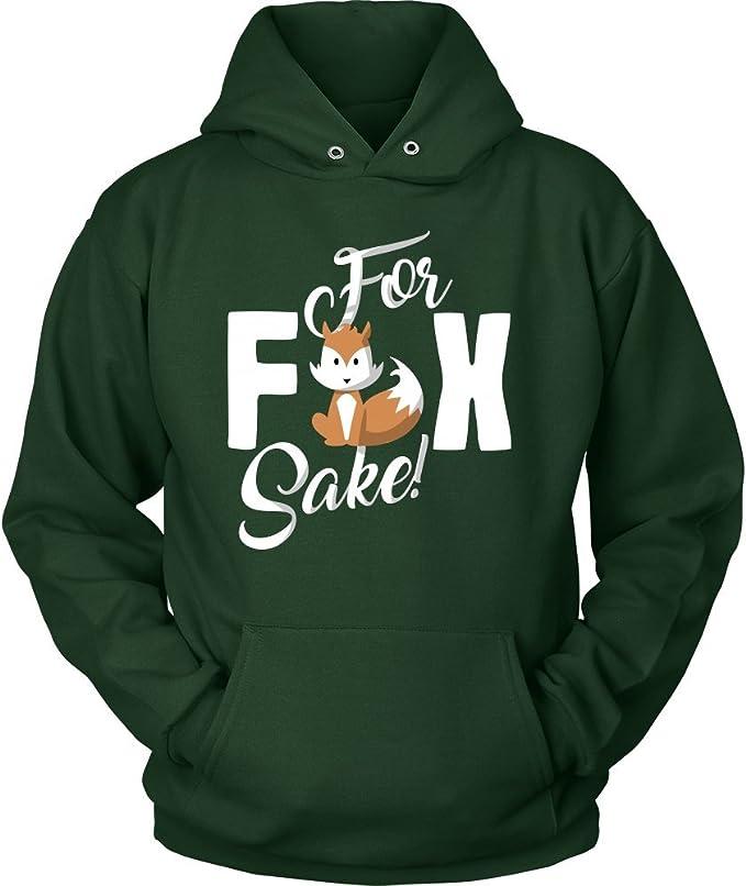 OH FOR FOX SAKE HOODY HOODIE FUNNY RUDE DESIGN CUTE JOKE GIFT PRESENT TOP COL