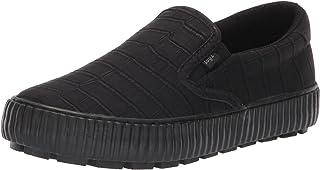 Lugz Women's Spell Fashion Boot Sneaker, Black/Black, 6.5