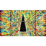 Lienzo psicodélico, póster de Setas, impresión, Imagen de Arte de Pared Vintage para Sala de Estar, decoración del hogar (sin Marco) 50x70 cm