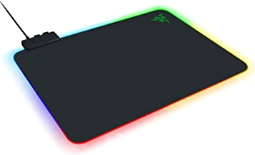 Razer Firefly Hard V2 RGB Gaming Mouse Pad: Customizable Chroma Lighting - Built-in Cable Management - Balanced Control & ...