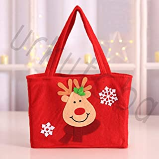 Best Design Uk Snowman Elk Santa Claus Candy Gift Bags Handbag Merry Christmas Package, Snowman Christmas Tree - Christmas Cloth Gift Bags, Christmas Cellophane Bags, Gift Tags, Gift Bags Paper