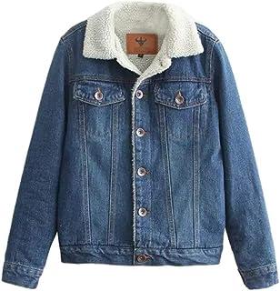 promo code 22c09 474ea Amazon.it: giacca jeans con pelliccia: Abbigliamento