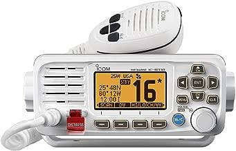 ICOM M330 21 Icom VHF, Basic, Compact, White
