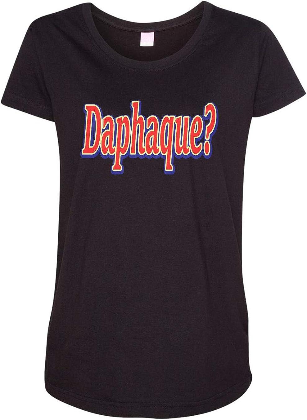 HARD EDGE Direct Popular standard sale of manufacturer DESIGN Daphaque T-Shirt Women's